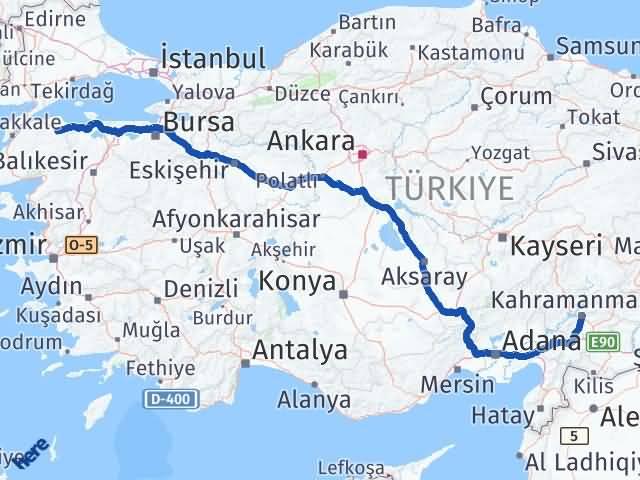 Maraş Biga Çanakkale Arası Kaç Km? - Kmhesaplama.com Arası Kaç Km Saat? Nerede Yol Haritası Yakıt, Rota ve Mesafe Hesaplama