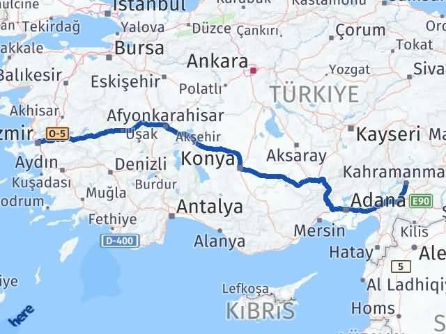 Maraş Bornova İzmir Arası Kaç Km? - Kmhesaplama.com Arası Kaç Km Saat? Nerede Yol Haritası Yakıt, Rota ve Mesafe Hesaplama
