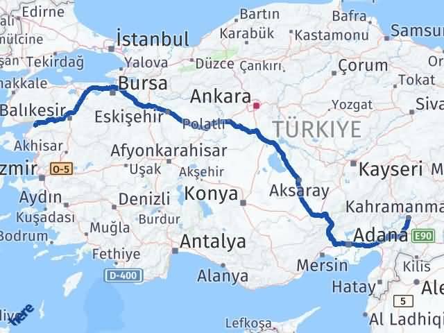 Maraş Burhaniye Balıkesir Arası Kaç Km? - Kmhesaplama.com Arası Kaç Km Saat? Nerede Yol Haritası Yakıt, Rota ve Mesafe Hesaplama