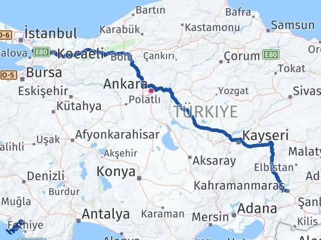 Maraş Çayırova Kocaeli Arası Kaç Km? - Kmhesaplama.com Arası Kaç Km Saat? Nerede Yol Haritası Yakıt, Rota ve Mesafe Hesaplama