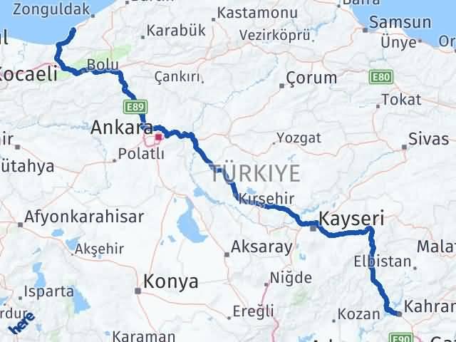 Maraş Ereğli Zonguldak Arası Kaç Km? - Kmhesaplama.com Arası Kaç Km Saat? Nerede Yol Haritası Yakıt, Rota ve Mesafe Hesaplama