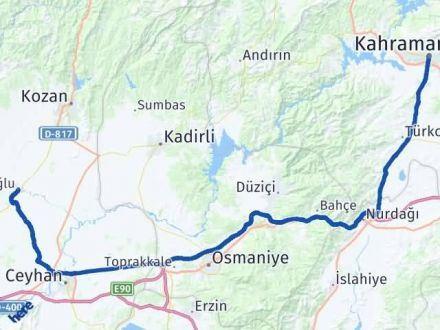 Maraş İmamoğlu Adana Arası Kaç Km? - Kmhesaplama.com Arası Kaç Km Saat? Nerede Yol Haritası Yakıt, Rota ve Mesafe Hesaplama