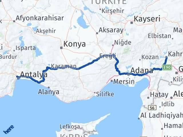 Maraş Kepez Antalya Arası Kaç Km? - Kmhesaplama.com Arası Kaç Km Saat? Nerede Yol Haritası Yakıt, Rota ve Mesafe Hesaplama