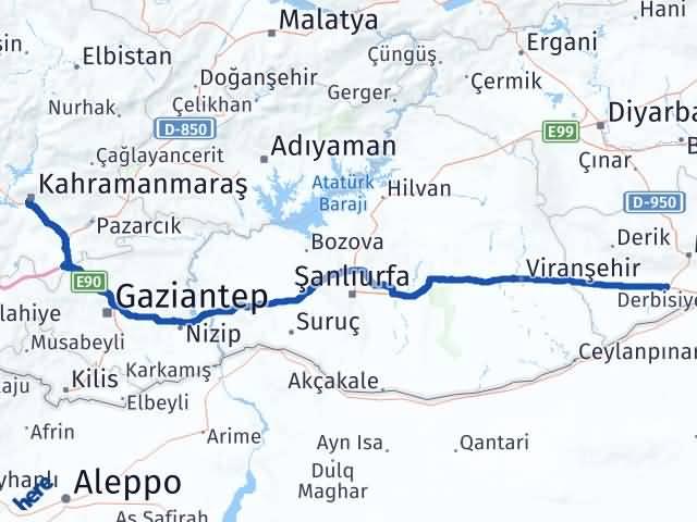 Maraş Kızıltepe Mardin Arası Kaç Km? - Kmhesaplama.com Arası Kaç Km Saat? Nerede Yol Haritası Yakıt, Rota ve Mesafe Hesaplama