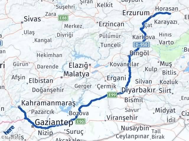 Maraş Köprüköy Erzurum Arası Kaç Km? - Kmhesaplama.com Arası Kaç Km Saat? Nerede Yol Haritası Yakıt, Rota ve Mesafe Hesaplama