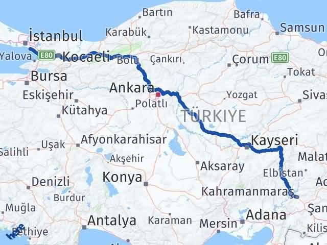 Maraş Maltepe İstanbul Arası Kaç Km? - Kmhesaplama.com Arası Kaç Km Saat? Nerede Yol Haritası Yakıt, Rota ve Mesafe Hesaplama