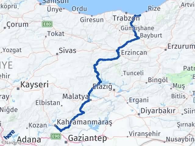 Maraş Of Trabzon Arası Kaç Km? - Kmhesaplama.com Arası Kaç Km Saat? Nerede Yol Haritası Yakıt, Rota ve Mesafe Hesaplama