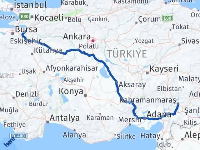 Maraş Yenişehir Bursa Arası Kaç Km? - Kmhesaplama.com Arası Kaç Km Saat? Nerede Yol Haritası Yakıt, Rota ve Mesafe Hesaplama