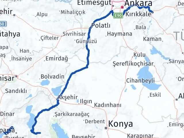 Kırıkkale Aksu Isparta Arası Kaç Km? - Kmhesaplama.com Arası Kaç Km Saat? Nerede Yol Haritası Yakıt, Rota ve Mesafe Hesaplama