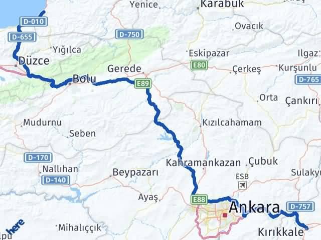 Kırıkkale Alaplı Zonguldak Arası Kaç Km? - Kmhesaplama.com Arası Kaç Km Saat? Nerede Yol Haritası Yakıt, Rota ve Mesafe Hesaplama