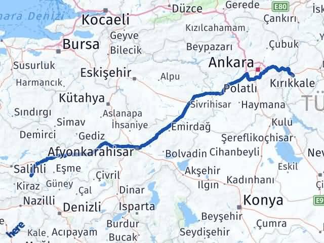Kırıkkale Alaşehir Manisa Arası Kaç Km? - Kmhesaplama.com Arası Kaç Km Saat? Nerede Yol Haritası Yakıt, Rota ve Mesafe Hesaplama