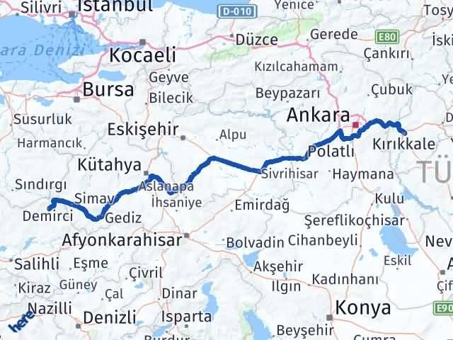Kırıkkale Demirci Manisa Arası Kaç Km? - Kmhesaplama.com Arası Kaç Km Saat? Nerede Yol Haritası Yakıt, Rota ve Mesafe Hesaplama