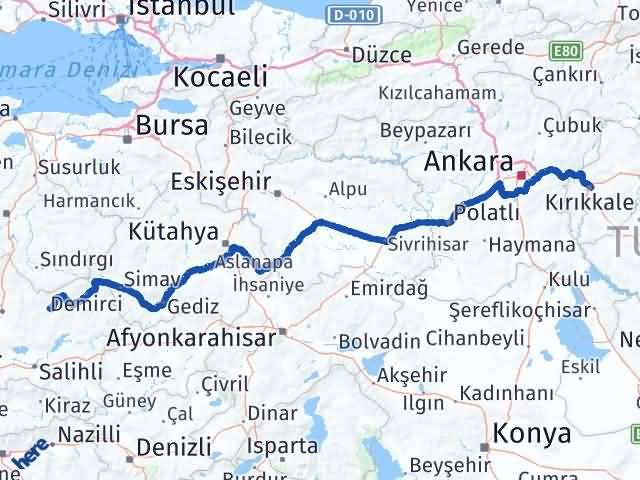 Kırıkkale Gördes Manisa Arası Kaç Km? - Kmhesaplama.com Arası Kaç Km Saat? Nerede Yol Haritası Yakıt, Rota ve Mesafe Hesaplama