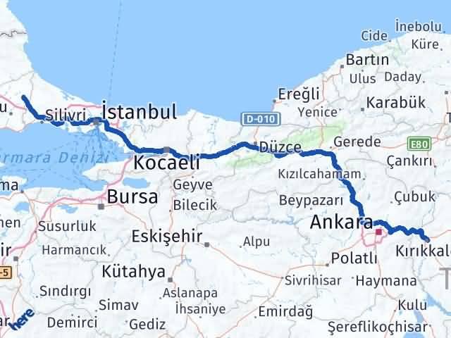 Kırıkkale Kapaklı Tekirdağ Arası Kaç Km? - Kmhesaplama.com Arası Kaç Km Saat? Nerede Yol Haritası Yakıt, Rota ve Mesafe Hesaplama