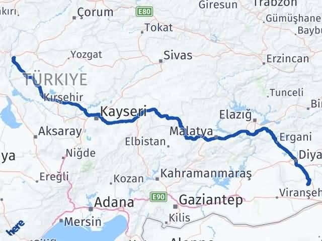 Kırıkkale Mazıdağı Mardin Arası Kaç Km? - Kmhesaplama.com Arası Kaç Km Saat? Nerede Yol Haritası Yakıt, Rota ve Mesafe Hesaplama