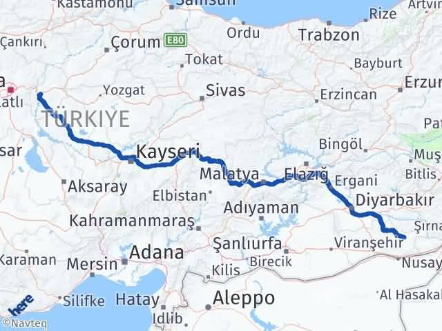 Kırıkkale Midyat Mardin Arası Kaç Km? - Kmhesaplama.com Arası Kaç Km Saat? Nerede Yol Haritası Yakıt, Rota ve Mesafe Hesaplama