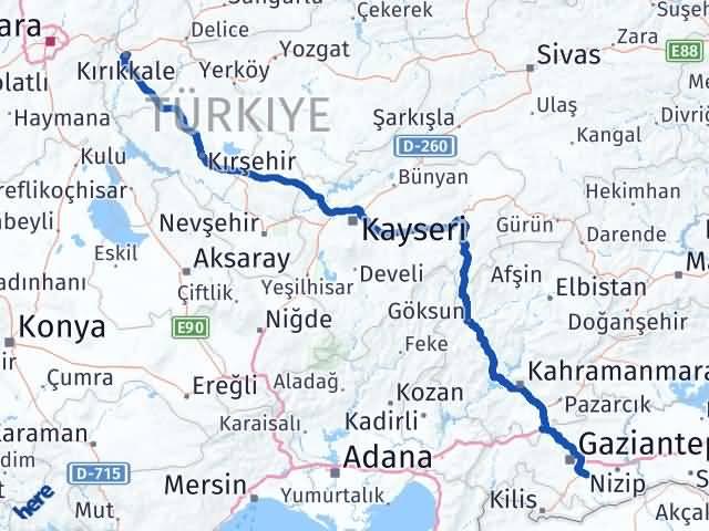 Kırıkkale Oğuzeli Gaziantep Arası Kaç Km? - Kmhesaplama.com Arası Kaç Km Saat? Nerede Yol Haritası Yakıt, Rota ve Mesafe Hesaplama