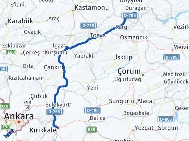 Kırıkkale Saraydüzü Sinop Arası Kaç Km? - Kmhesaplama.com Arası Kaç Km Saat? Nerede Yol Haritası Yakıt, Rota ve Mesafe Hesaplama