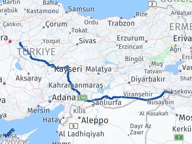 Kırıkkale Uludere Şırnak Arası Kaç Km? - Kmhesaplama.com Arası Kaç Km Saat? Nerede Yol Haritası Yakıt, Rota ve Mesafe Hesaplama