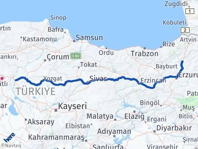 Kırıkkale Uzundere Erzurum Arası Kaç Km? - Kmhesaplama.com Arası Kaç Km Saat? Nerede Yol Haritası Yakıt, Rota ve Mesafe Hesaplama