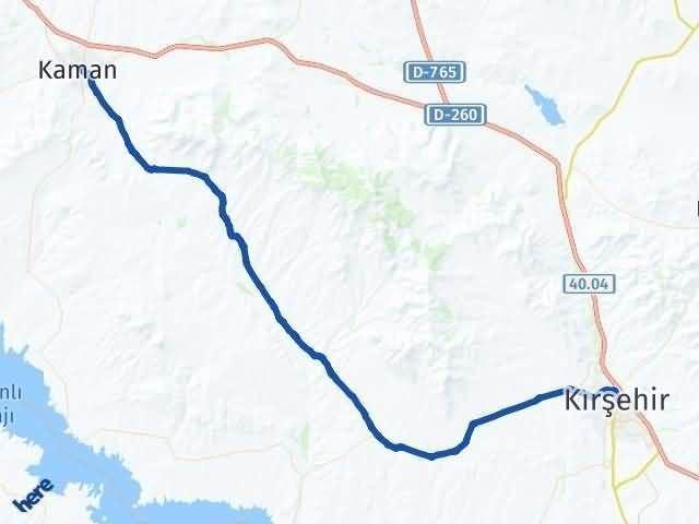 Kırşehir Kaman Arası Kaç Km? Yol Haritası - Km Hesaplama Arası Kaç Km Saat? Nerede Yol Haritası Yakıt, Rota ve Mesafe Hesaplama