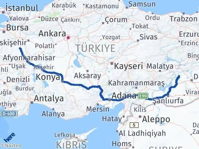 Kütahya Çermik Diyarbakır Arası Kaç Km? - Km hesaplama Arası Kaç Km Saat? Nerede Yol Haritası Yakıt, Rota ve Mesafe Hesaplama