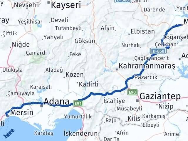 Malatya Akdeniz Mersin Arası Kaç Km? - Kmhesaplama.com Arası Kaç Km Saat? Nerede Yol Haritası Yakıt, Rota ve Mesafe Hesaplama