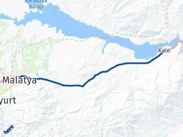 Malatya Kale Arası Kaç Km? Yol Haritası - Km Hesaplama Arası Kaç Km Saat? Nerede Yol Haritası Yakıt, Rota ve Mesafe Hesaplama