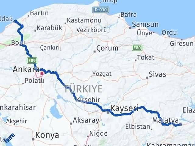 Malatya Kilimli Zonguldak Arası Kaç Km? - Kmhesaplama.com Arası Kaç Km Saat? Nerede Yol Haritası Yakıt, Rota ve Mesafe Hesaplama