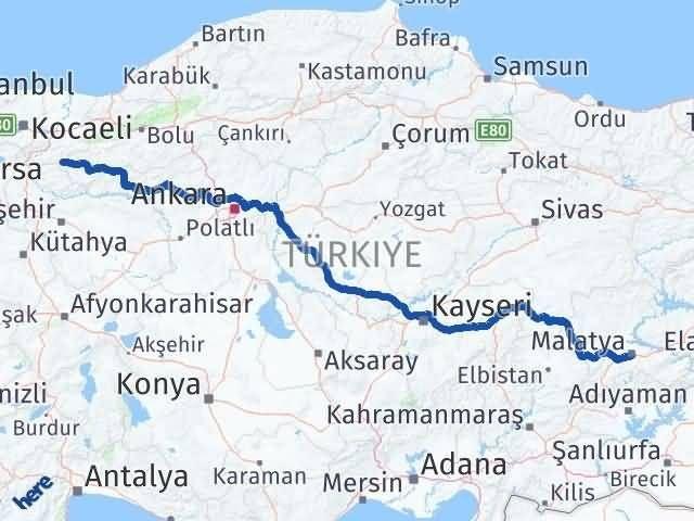 Malatya Taraklı Sakarya Arası Kaç Km? - Kmhesaplama.com Arası Kaç Km Saat? Nerede Yol Haritası Yakıt, Rota ve Mesafe Hesaplama