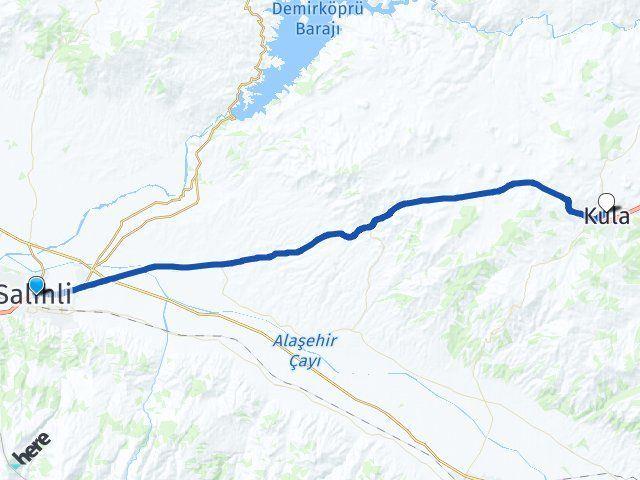 Manisa Salihli Kula Arası Kaç Km? Arası Kaç Km Saat? Nerede Yol Haritası Yakıt, Rota ve Mesafe Hesaplama