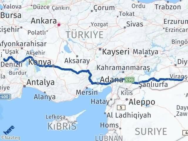 Mardin Bekilli Denizli Arası Kaç Km? - Kmhesaplama.com Arası Kaç Km Saat? Nerede Yol Haritası Yakıt, Rota ve Mesafe Hesaplama
