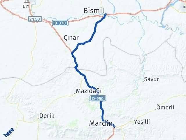 Mardin Bismil Diyarbakır Arası Kaç Km? - Kmhesaplama.com Arası Kaç Km Saat? Nerede Yol Haritası Yakıt, Rota ve Mesafe Hesaplama