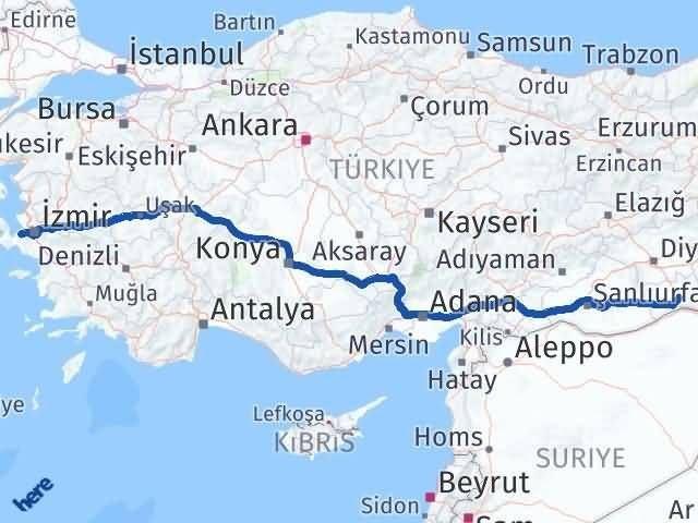 Mardin Güzelbahçe İzmir Arası Kaç Km? - Kmhesaplama.com Arası Kaç Km Saat? Nerede Yol Haritası Yakıt, Rota ve Mesafe Hesaplama