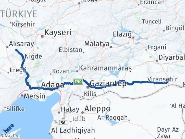 Mardin Güzelyurt Aksaray Arası Kaç Km? - Kmhesaplama.com Arası Kaç Km Saat? Nerede Yol Haritası Yakıt, Rota ve Mesafe Hesaplama