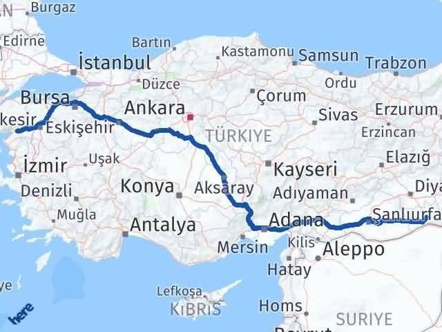 Mardin Havran Balıkesir Arası Kaç Km? - Kmhesaplama.com Arası Kaç Km Saat? Nerede Yol Haritası Yakıt, Rota ve Mesafe Hesaplama