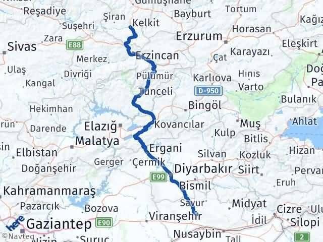 Mardin Kelkit Gümüşhane Arası Kaç Km? - Kmhesaplama.com Arası Kaç Km Saat? Nerede Yol Haritası Yakıt, Rota ve Mesafe Hesaplama