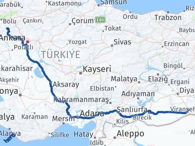 Mardin Kıbrıscık Bolu Arası Kaç Km? - Kmhesaplama.com Arası Kaç Km Saat? Nerede Yol Haritası Yakıt, Rota ve Mesafe Hesaplama