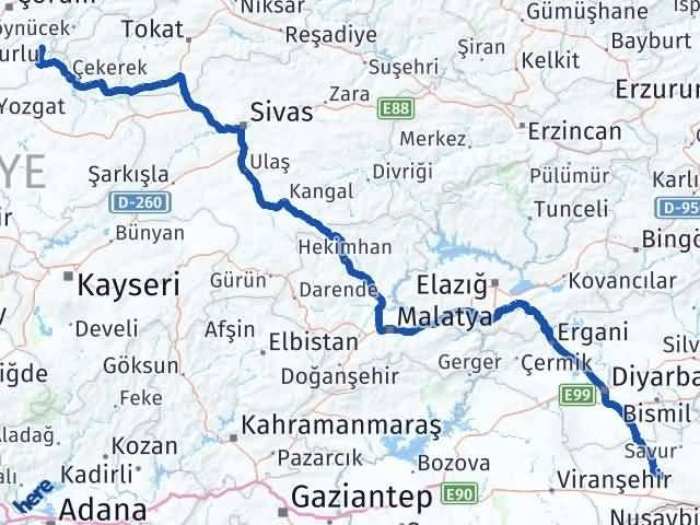 Mardin Ortaköy Çorum Arası Kaç Km? - Kmhesaplama.com Arası Kaç Km Saat? Nerede Yol Haritası Yakıt, Rota ve Mesafe Hesaplama
