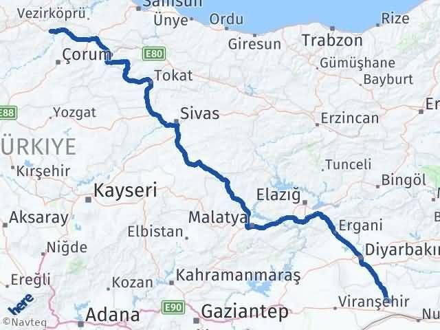 Mardin Osmancık Çorum Arası Kaç Km? - Kmhesaplama.com Arası Kaç Km Saat? Nerede Yol Haritası Yakıt, Rota ve Mesafe Hesaplama