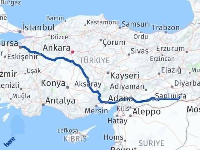 Mardin Osmangazi Bursa Arası Kaç Km? - Kmhesaplama.com Arası Kaç Km Saat? Nerede Yol Haritası Yakıt, Rota ve Mesafe Hesaplama