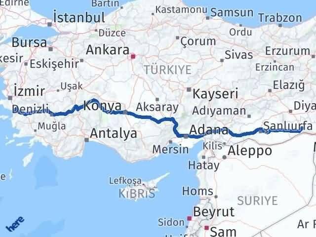 Mardin Selçuk İzmir Arası Kaç Km? - Kmhesaplama.com Arası Kaç Km Saat? Nerede Yol Haritası Yakıt, Rota ve Mesafe Hesaplama