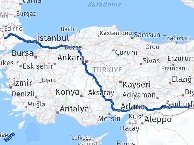 Mardin Uzunköprü Edirne Arası Kaç Km? - Kmhesaplama.com Arası Kaç Km Saat? Nerede Yol Haritası Yakıt, Rota ve Mesafe Hesaplama