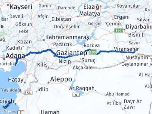 Mardin Yumurtalık Adana Arası Kaç Km? - Kmhesaplama.com Arası Kaç Km Saat? Nerede Yol Haritası Yakıt, Rota ve Mesafe Hesaplama