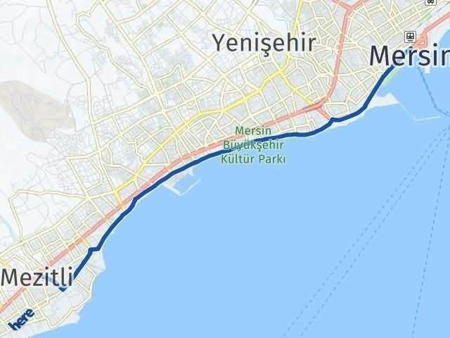 Mersin Mezitli Arası Kaç Km? Yol Haritası - Km Hesaplama Arası Kaç Km Saat? Nerede Yol Haritası Yakıt, Rota ve Mesafe Hesaplama