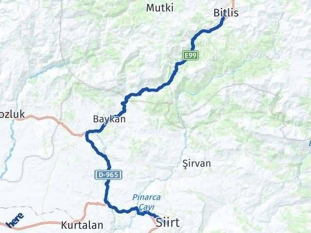 Siirt ile Bitlis Arası Kaç Km? Kaç Saat? - Kmhesaplama.com Arası Kaç Km Saat? Nerede Yol Haritası Yakıt, Rota ve Mesafe Hesaplama