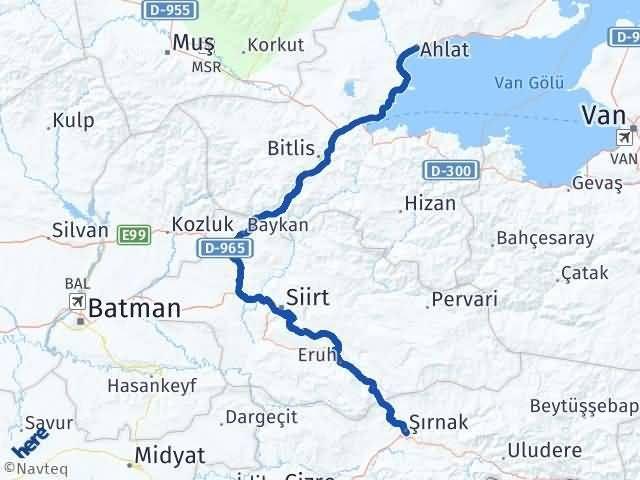 Şırnak Ahlat Bitlis Arası Kaç Km? - Kmhesaplama.com Arası Kaç Km Saat? Nerede Yol Haritası Yakıt, Rota ve Mesafe Hesaplama