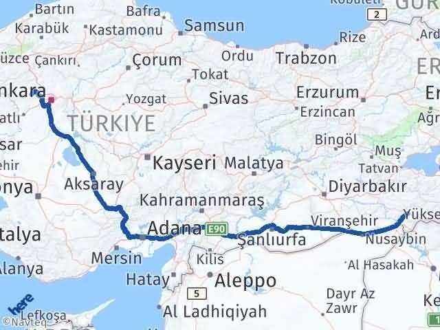 Şırnak Ayaş Ankara Arası Kaç Km? - Kmhesaplama.com Arası Kaç Km Saat? Nerede Yol Haritası Yakıt, Rota ve Mesafe Hesaplama