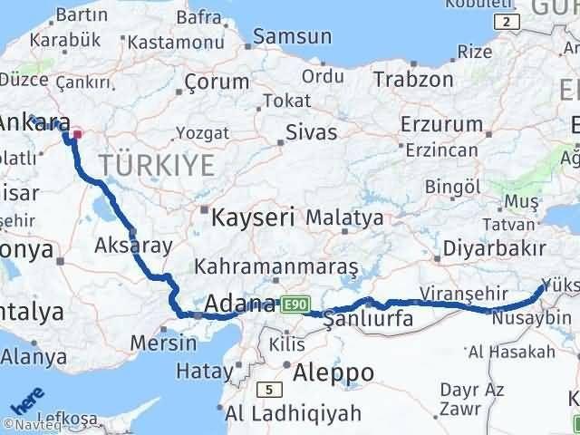 Şırnak Beypazarı Ankara Arası Kaç Km? - Kmhesaplama.com Arası Kaç Km Saat? Nerede Yol Haritası Yakıt, Rota ve Mesafe Hesaplama