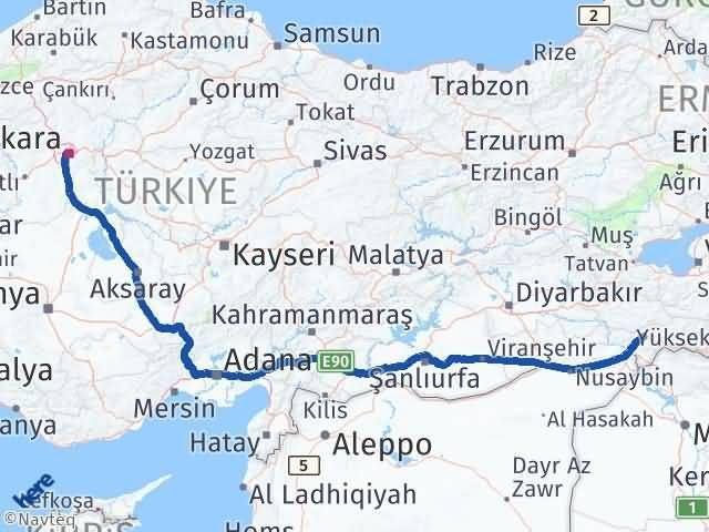 Şırnak Çankaya Ankara Arası Kaç Km? - Kmhesaplama.com Arası Kaç Km Saat? Nerede Yol Haritası Yakıt, Rota ve Mesafe Hesaplama